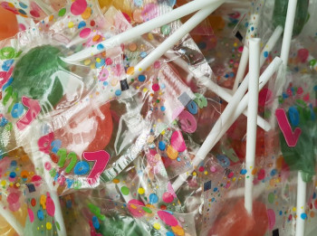100st Fruit Lolly's
